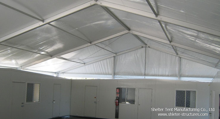 indoor warehouse tent