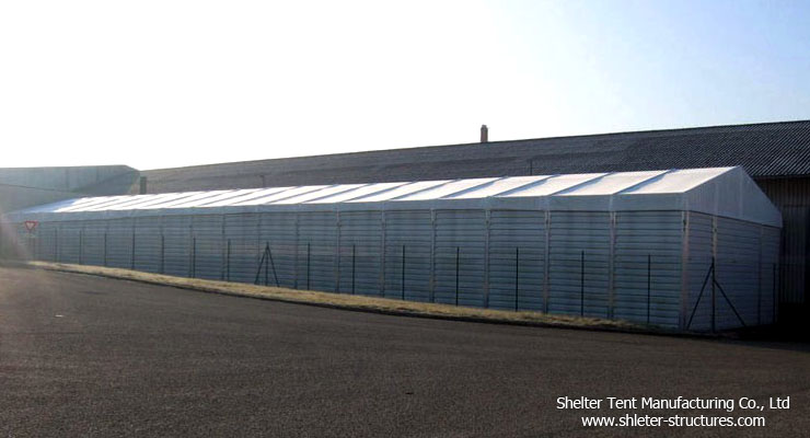 Large tent for warehouse