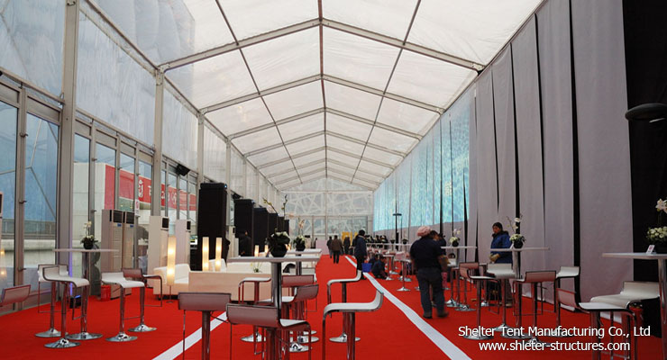 exhibition tent for event