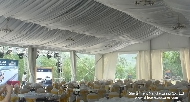 1000 seater tent